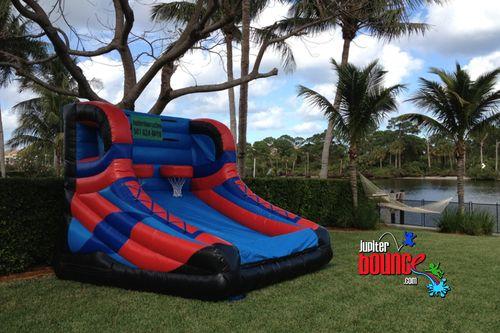 Basketball 3 Jpg Bounce House Palm Beach Gardens Inflatable Bounce House