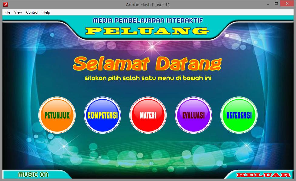 Aplikasi Media Pembelajaran Interaktif Matematika Tentang Peluang Game Edukasi Belajar Multimedia