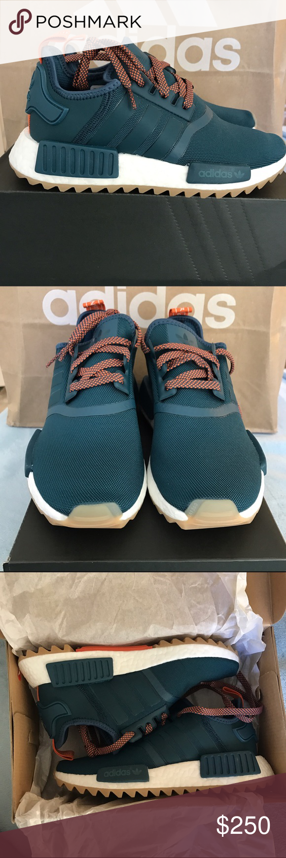 7f98ae7f421a Adidas NMD R1 Trail Shoes Turquoise Women s 5.5 Adidas Originals NMD R1  Trail W Shoes Women s Size 5.5   EU 36 2 3 Fits like a Women s 6 Deadstock