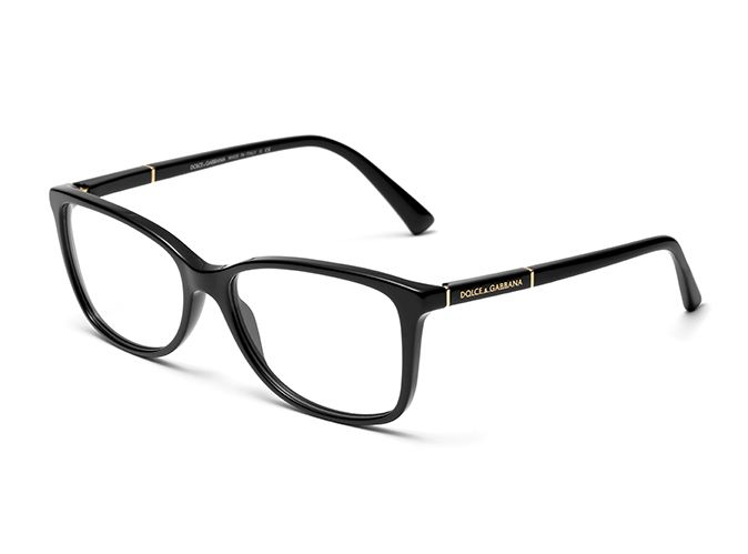 f1e5a9d4ed Women s black   gold eyeglasses with square frame Dolce   Gabbana dg3219