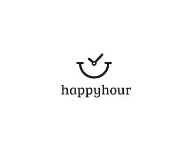 Happyhour Logo Design Inspiration Simple Logo Design Inspiration House Logo Design