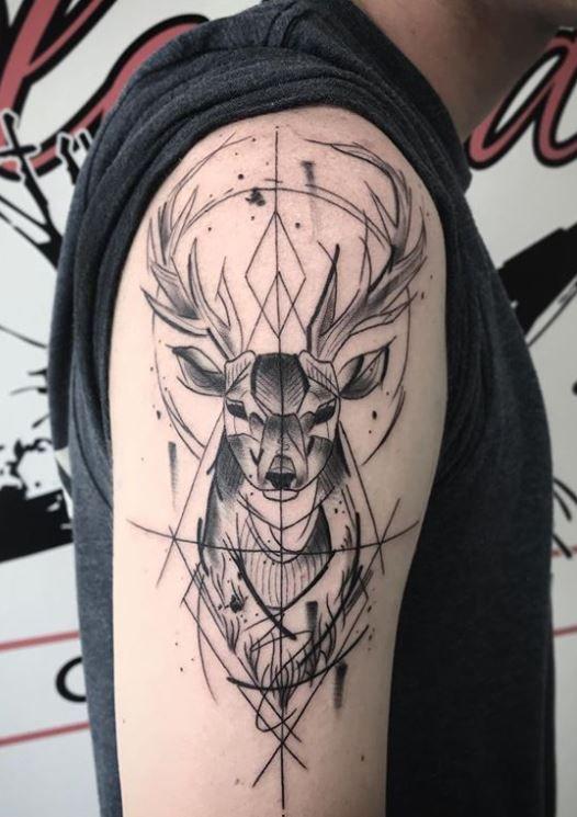, Deer Tattoo, My Tattoo Blog 2020, My Tattoo Blog 2020
