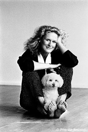 Glenn Close and Gaby,  Priscilla Rattazzi, photographer.