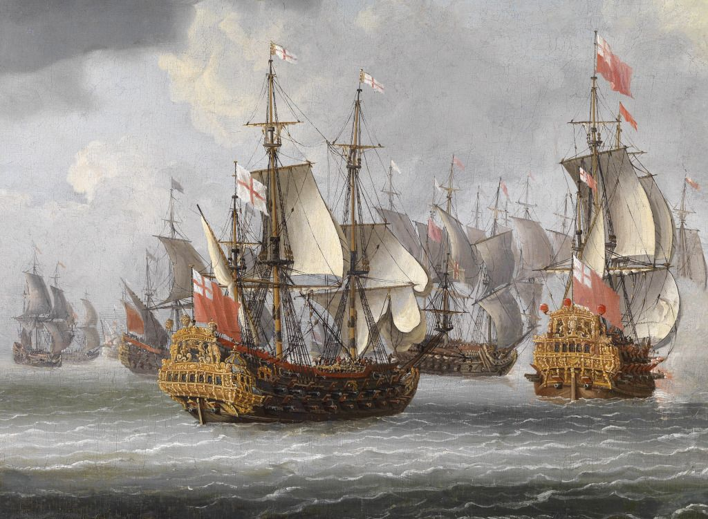 English Manofwar puzzle in Piece of Art jigsaw puzzles