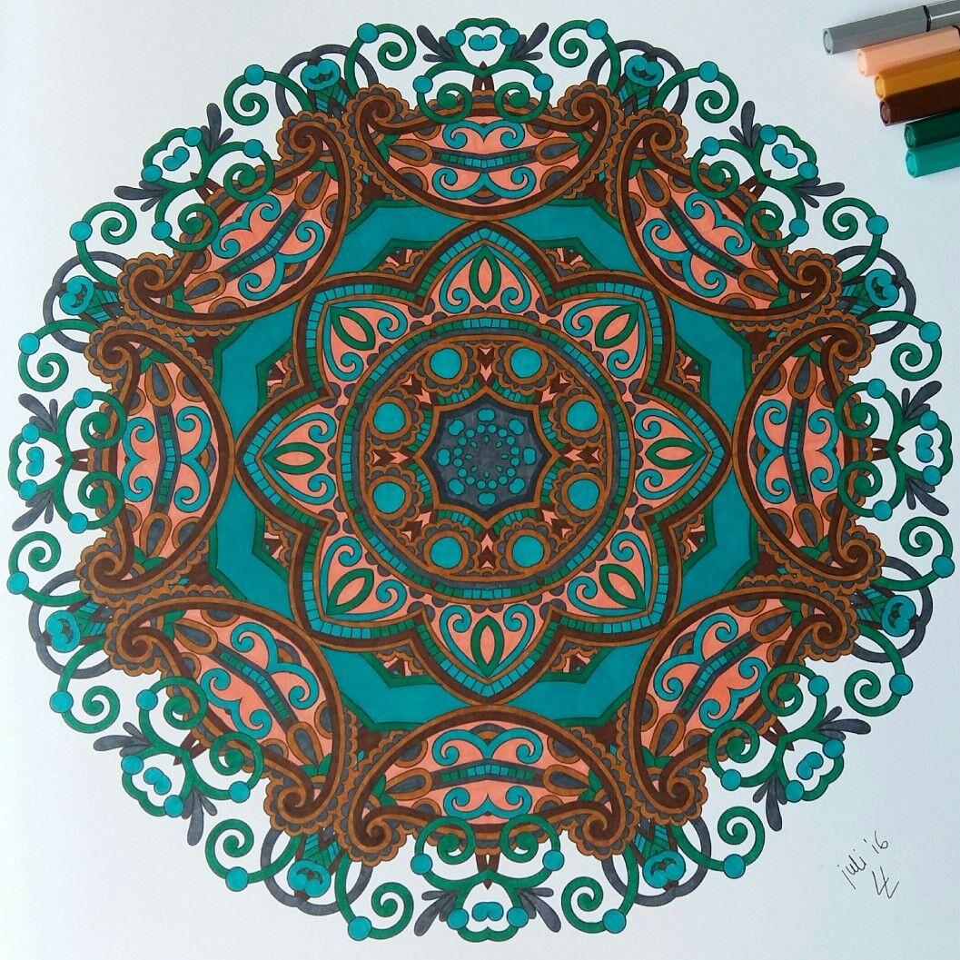 Mandala, #hetenigeechtemandalakleurboek