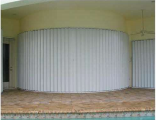 When Hurricane Winds Start To Howl You Want Storm Shutters You Can Deploy In An Instant Presenting Guardian Hurricane S Accordion Shutter