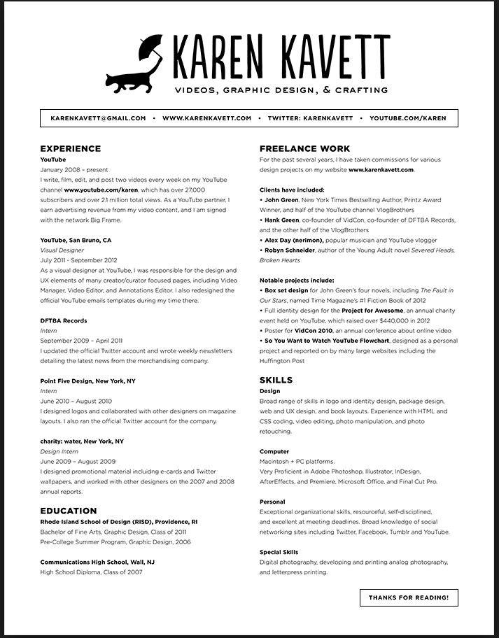 Image result for font size cv graphic designer Resume