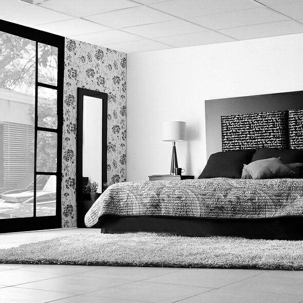 Hice arte hice muebles dico muebles blanco negro for Muebles dico recamaras