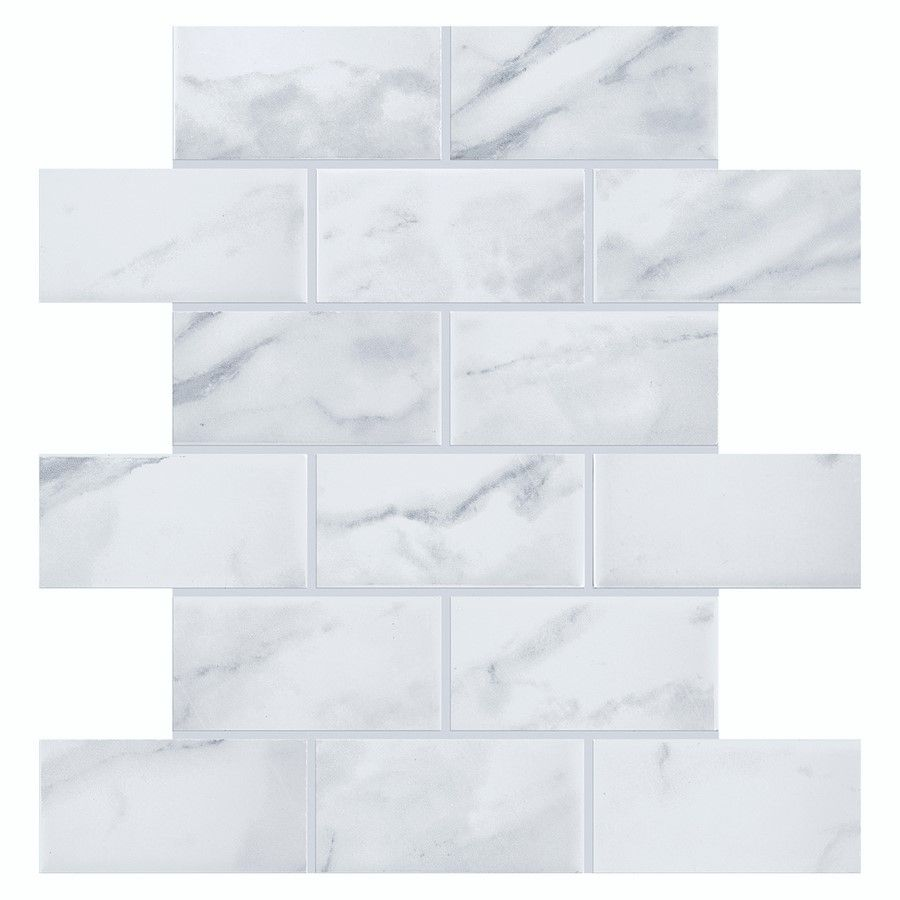 Carrara marble subway tile backsplash find it at the home depot carrara marble subway tile backsplash find it at the home depot indyhomes doublecrazyfo Image collections