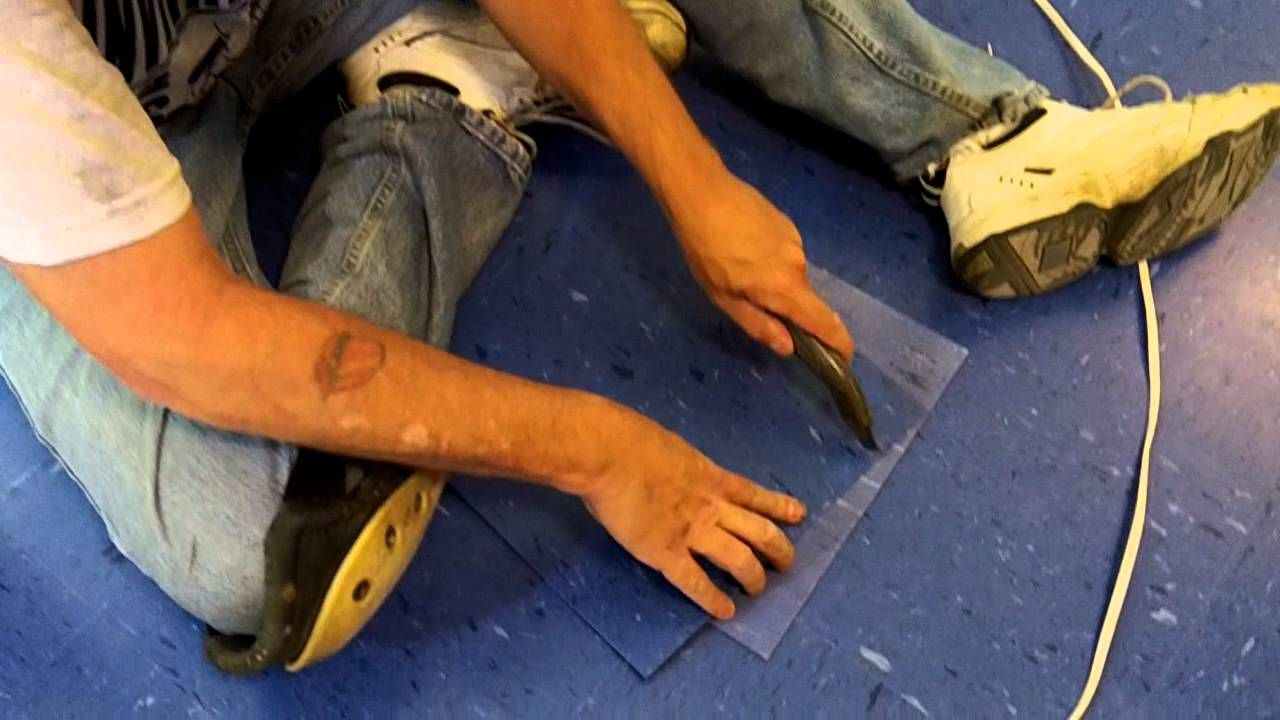 How To Install Vinyl Tile (VCT) Start To Finish Complete