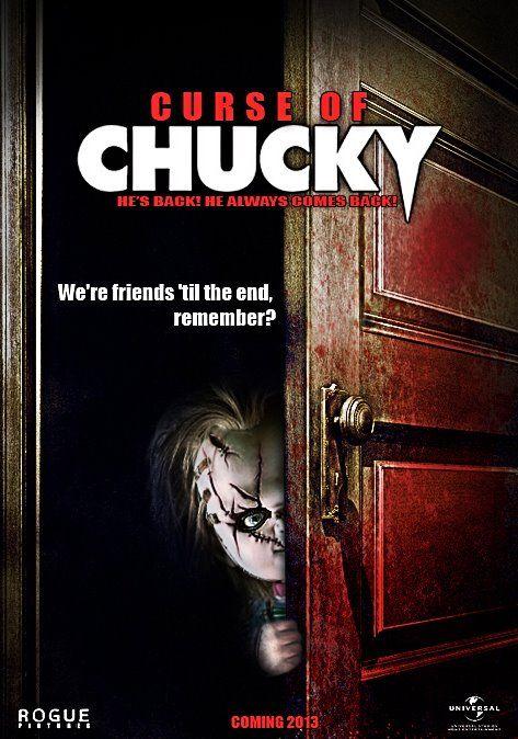 Curse Of Chucky 2013 Poster Revealed Chucky Peliculas De Terror La Novia De Chucky
