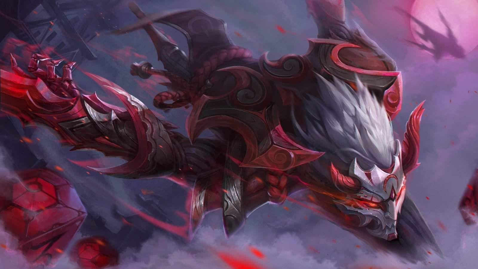 Blood Moon Tatuagem Lol Zed Wallpaper Leona League Of Legends