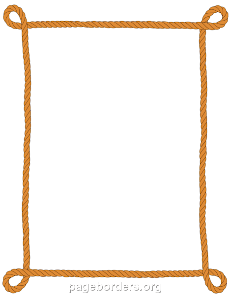 Rope Border Borders And Frames Page Borders Borders For Paper