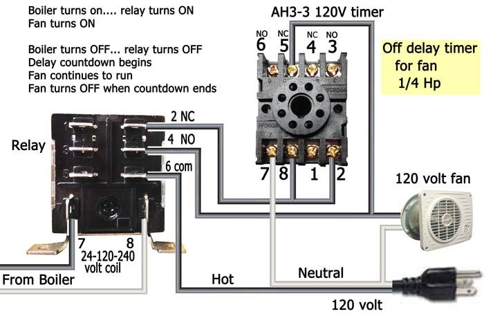 Water Heater Timer Wiring Diagram