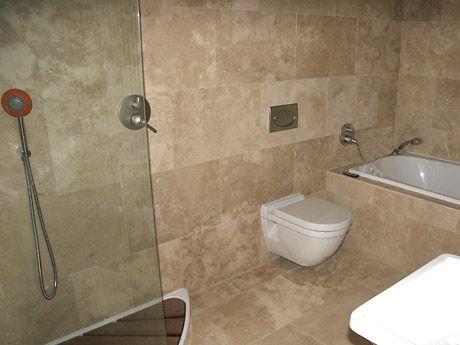 tuscany classic travertine on kitchen floor | Bathroom Travertine ...