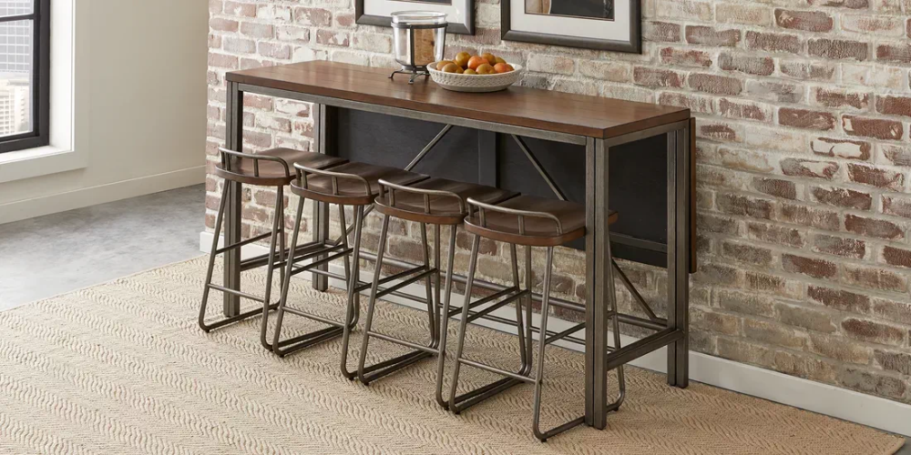 Bridgetown Brown 5 Pc Counter Height Dining Set Rooms To Go In