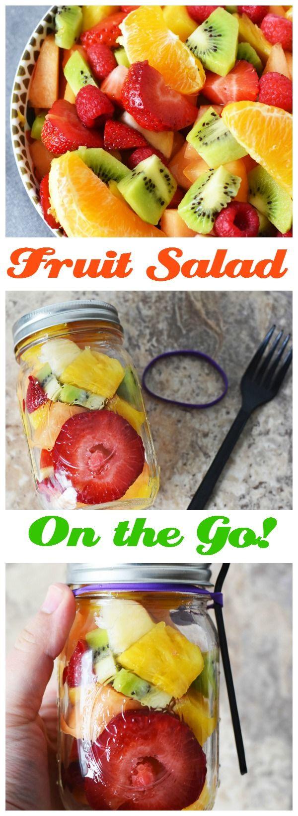 Fruit Salad in a Jar