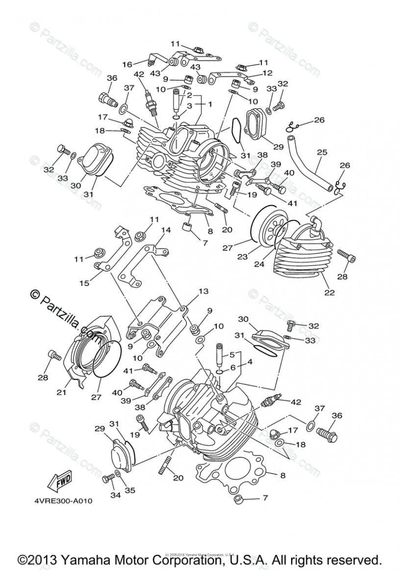 Yamaha V Star 7 Engine Diagram Yamaha V Star Diagram Yamaha