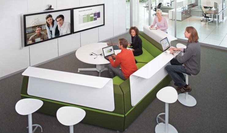 Collaborative workspace google search office design Collaborative workspace design