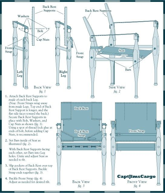 Campaign Chair Plans Campaign Furniture Campaign Furniture Plans Nomadic Furniture