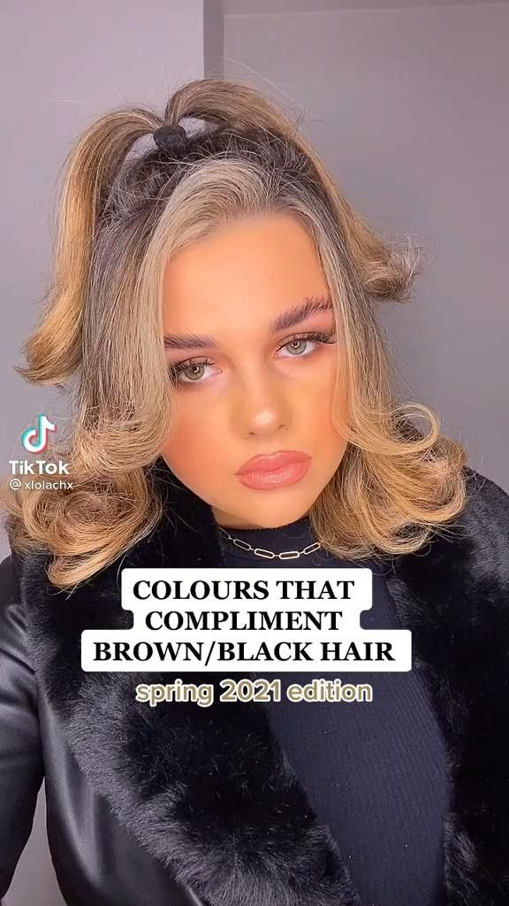 13+ Colors that compliment brown hair trends