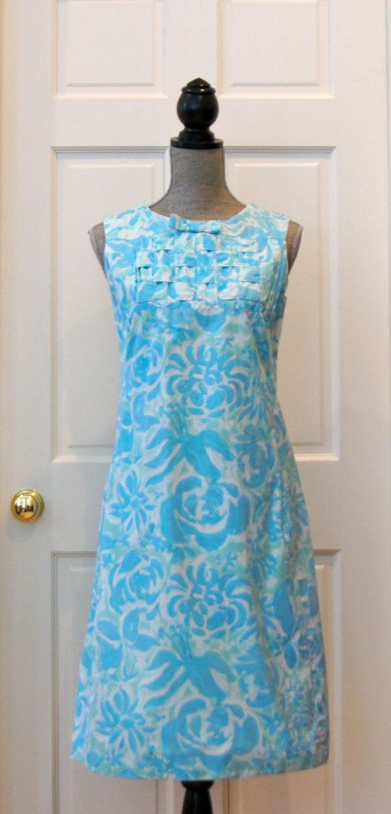 036e1db511b9f4 Vintage 1960s Lilly Pulitzer Dress, Traditional, Preppy, Retro, Resort,  Summer, Cotton, Designer Dress