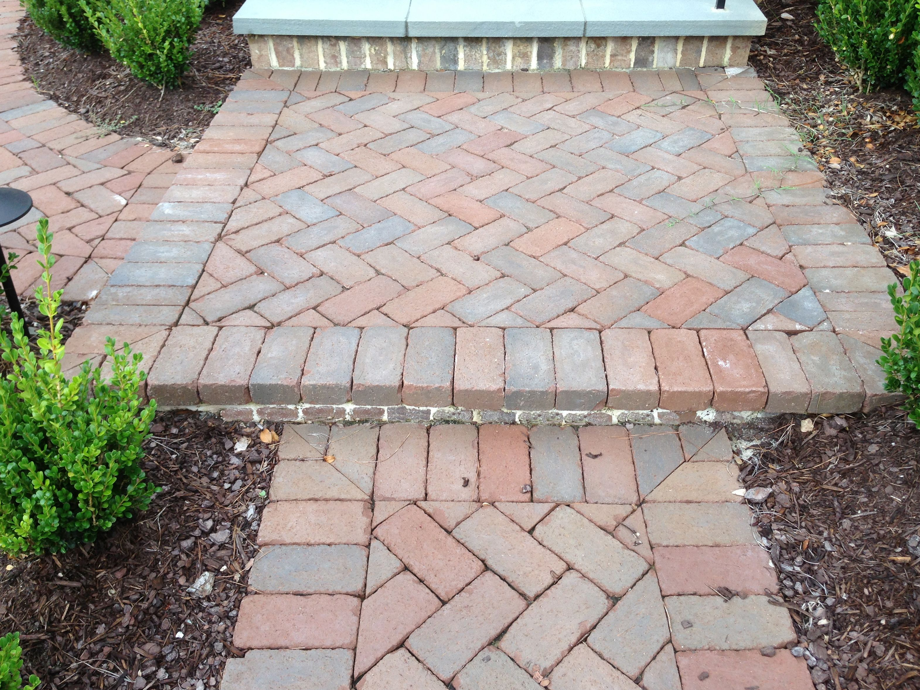 Do You Like Chocolate Tones Take A Look At This Rumbled Cocoa Platform Step And Walkway Pavers Made Especially For Patios Backyard Design Yard Design Patios