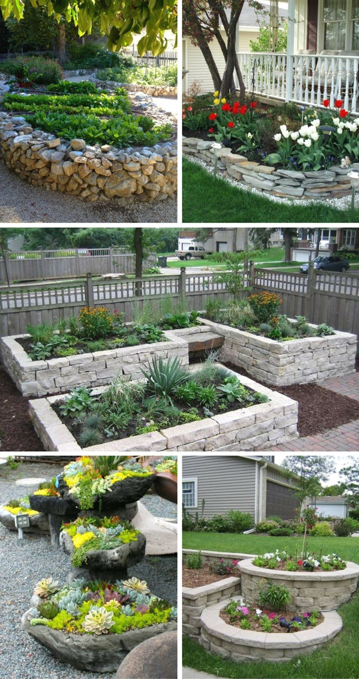how to grow an organic garden the right way garden on beautiful front yard rock n flowers garden landscaping ideas how to create it id=92812