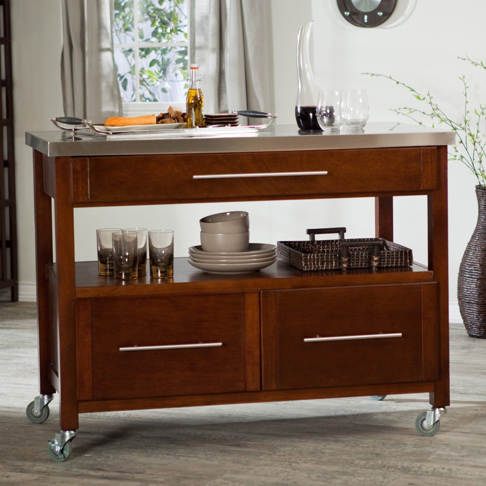 Superior 60 Types Of Small Kitchen Islands U0026 Carts On Wheels (2017)