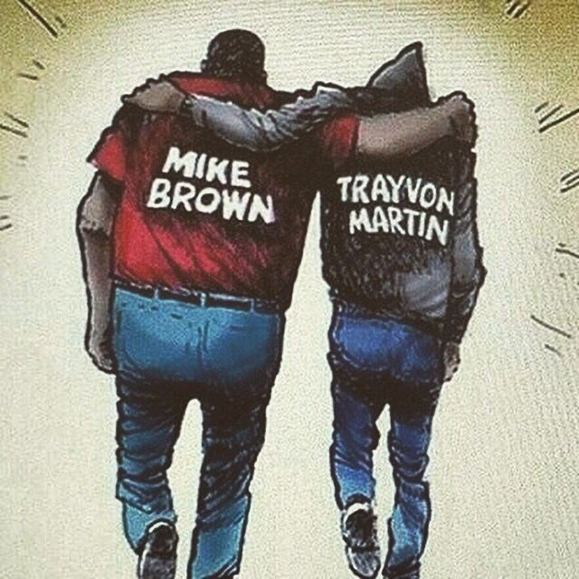 Brothers in Arms #TrayvonMartin #MikBrown #RIP Kings