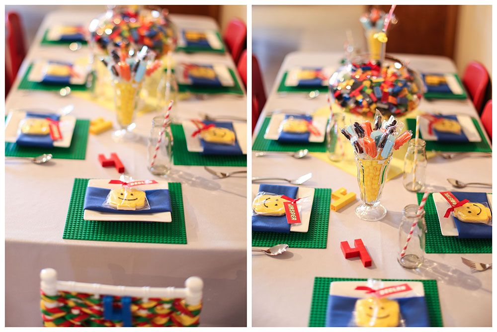 LEGO PARTY TABLE- Cute Birthday Party Theme for Boys | Kids Just ...