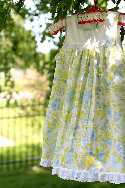 sewing } another pillowcase nightgown | Nähen