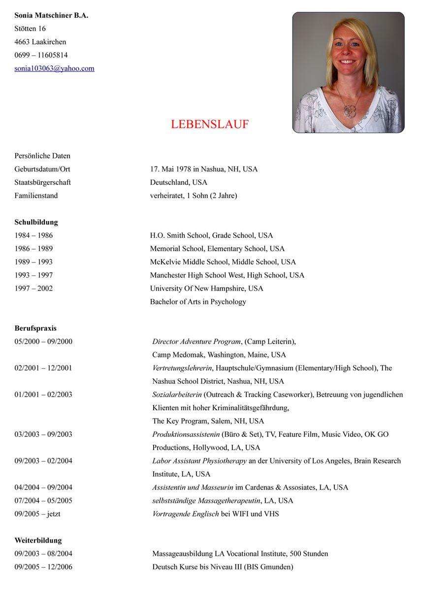 Ausgezeichnet Hilfe Beim Schreiben Lebenslauf Ziel Galerie - Entry ...