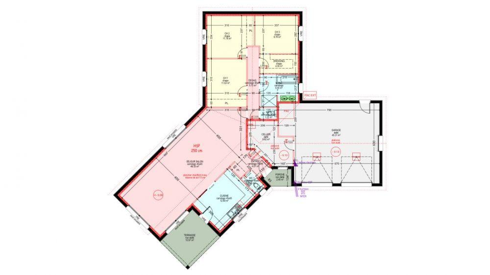 Bungalow de luxe Bungalow, Architecture and Construction