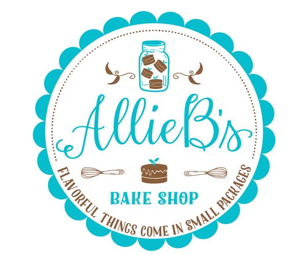 Alliebs Bake Shop Logo Design Logo Bakery Logo Design Logo