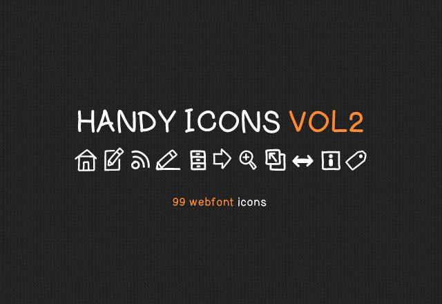 Handy Icons Vol 2