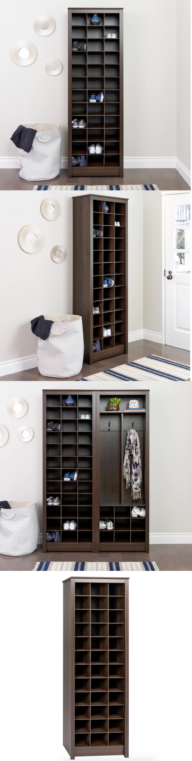 Hallway storage shoes  Shoe Organizers  Cubby Cabinet Shoe Storage Organizer For