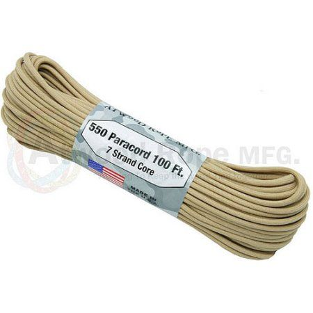 Atwood Rope 550 Lb Paracord 7 Strand Core 1 8 Inch X 100 Paracord 550 Paracord The 100