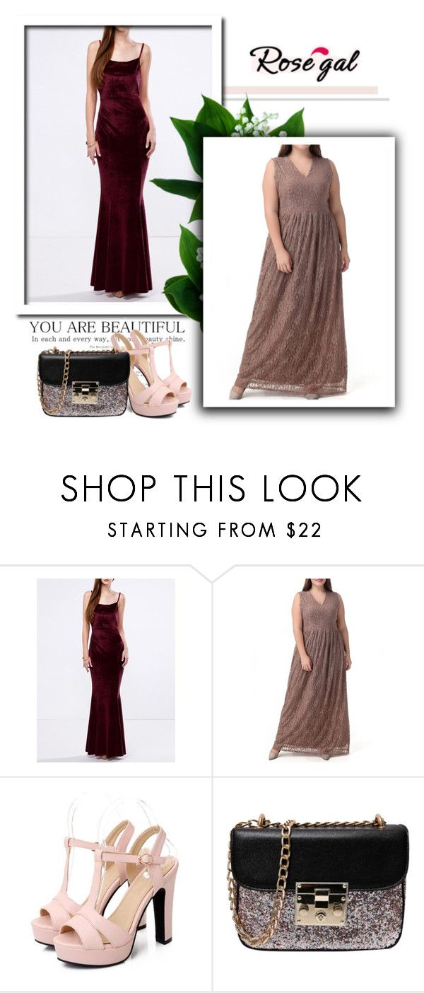 """Rosegal prom dresses"" by newoutfit ❤ liked on Polyvore featuring lady and rosegal"