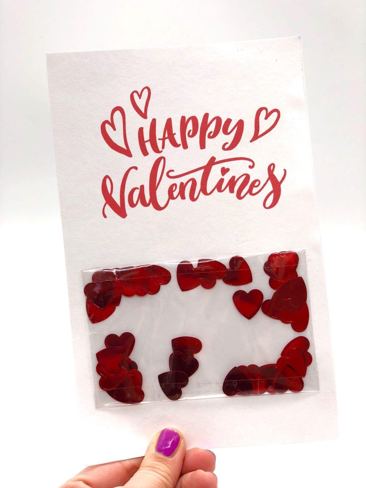 karten selbst gestalten - valentinstag karte selber machen   blogmix