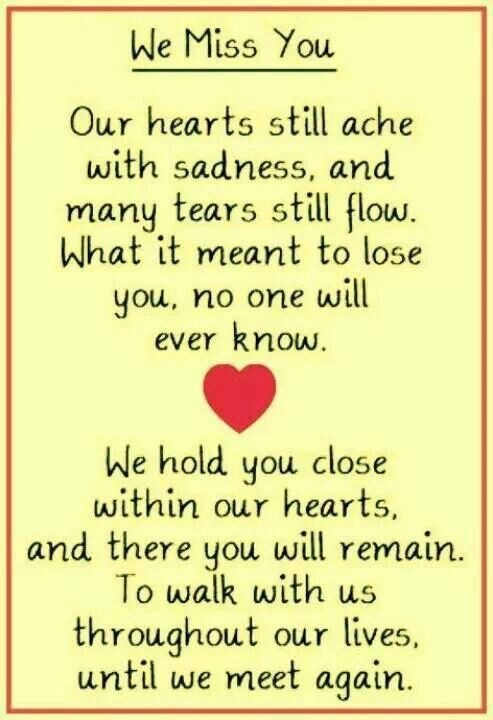 Missing My Brother in Heaven Quotes ...