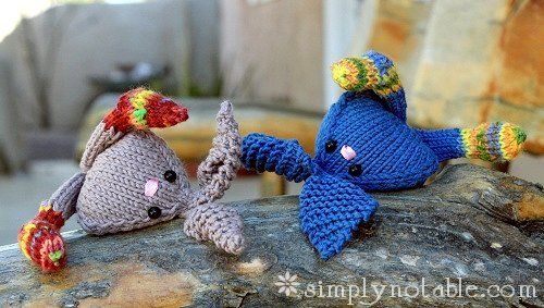 Tumbling Bunnies Free Knitting Pattern | Free Knit and Crochet ...