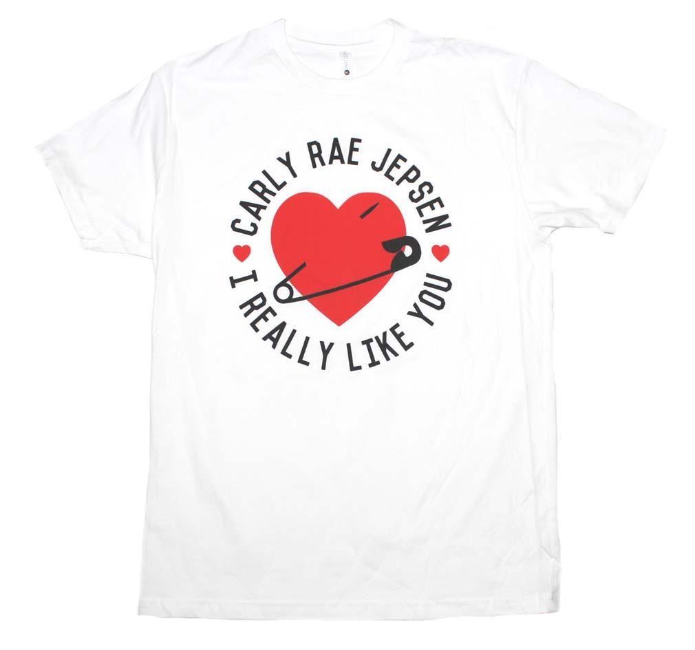 Carly Rae Jepsen I Really Like You Hearts Dance Canadian Pop Music T Shirt 6423