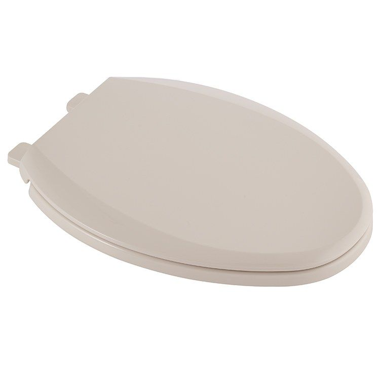 Champion Elongated Front Soft Close Toilet Seat With Lid