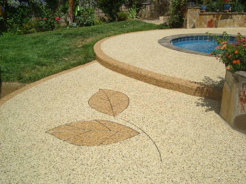 Pebble Stone Concrete Overlay Zef Jam