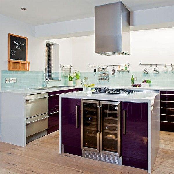 Purple Kitchen Designs, Pictures and Inspiration | Purple kitchen ...