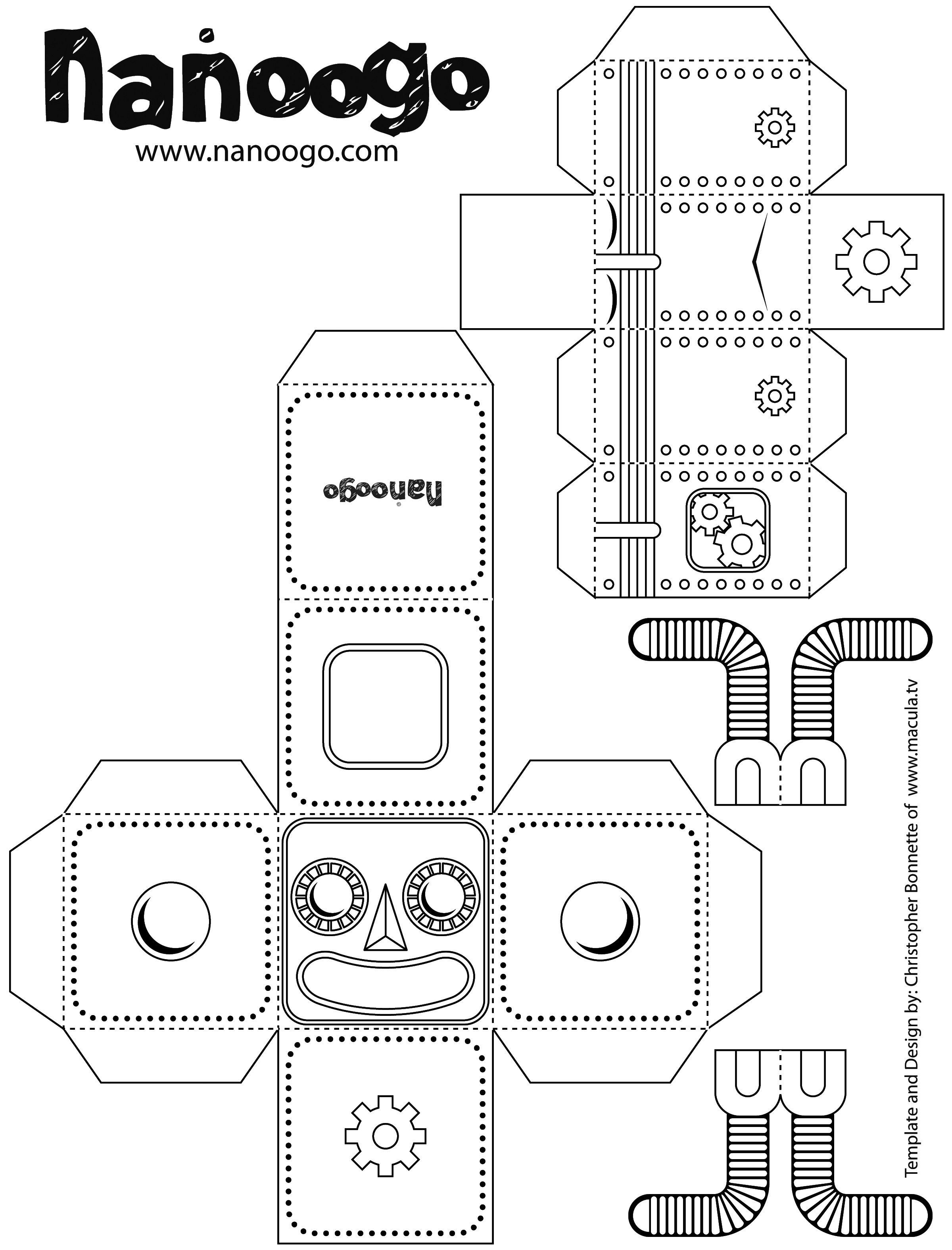 Nanoogo Robot