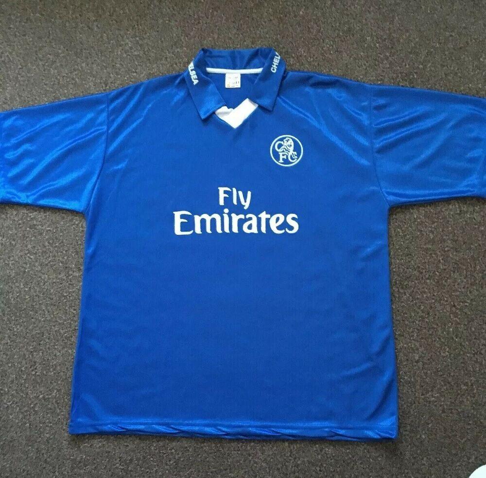 the best attitude 2da1c 8c7ba Fly Emirates Chelsea Shirt Lampard 8 Size XL | eBay | That ...