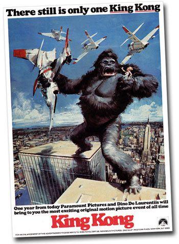 king kong 1976 poster - Google Search