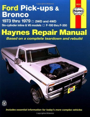Manualspro Ford Pick Ups Amp Bronco Automotive Repair Manual 1973 1979 Https T Co 7fokfithxt Https T Co Btkjyd Repair Manuals Ford Pickup Ford Trucks